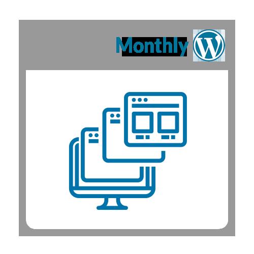 18 hour monthly website retainer
